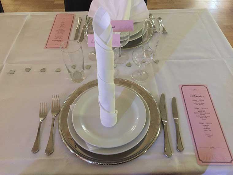 Festtelte, partytelte, borde og service